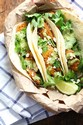 Crispy Fish Tacos with Jalapeno Sauce